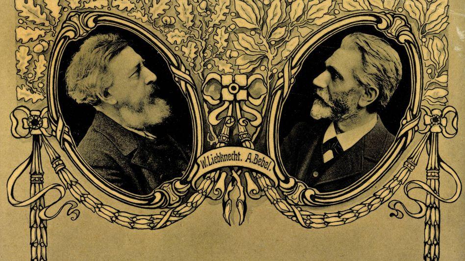 Wilhelm Liebknecht und August Bebel