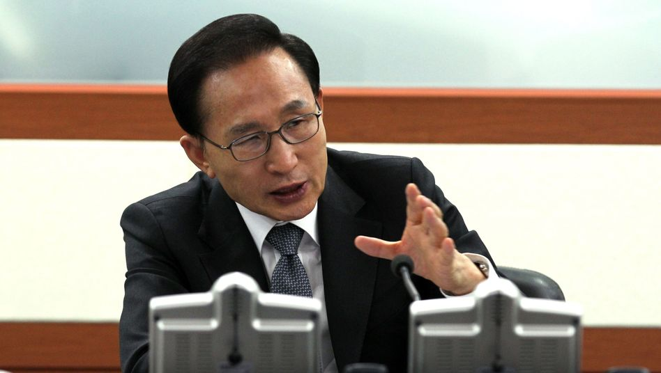 Lee Myung Bak (Archivbild von 2012)