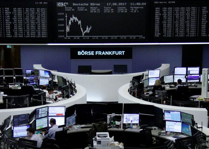 Börse in Frankfurt am Main
