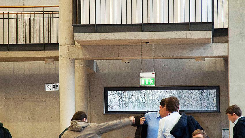 """""""Gebetsbalkon"""" in der Mensa der Hochschule Bochum: """"Politisch gute Lösung"""""""