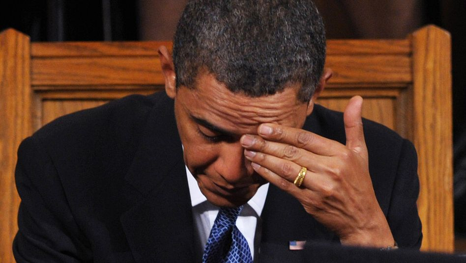 US President Barack Obama has had a difficult first year.