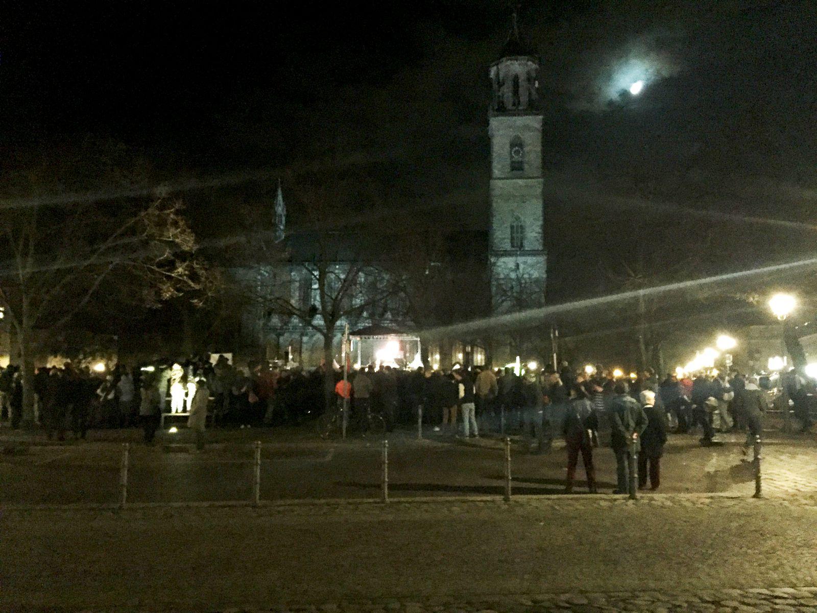 Flüchtlinge/ Magdeburg