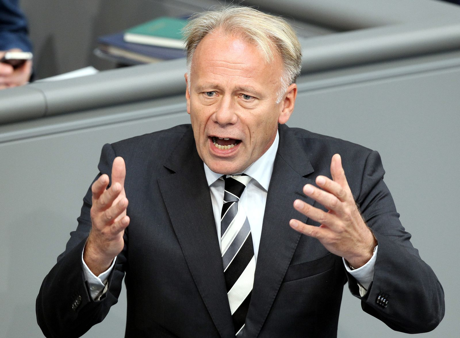 Bundestag Abstimmung über Euro-Rettungsschirm Trittin