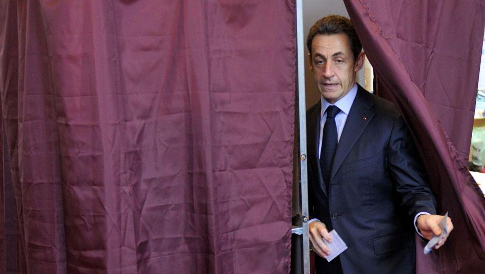 Schlappe für Frankreichs Präsidenten: SarK.o.