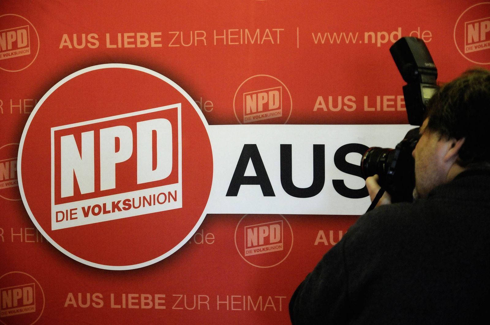 NICHT VERWENDEN NPD / Steuergelder