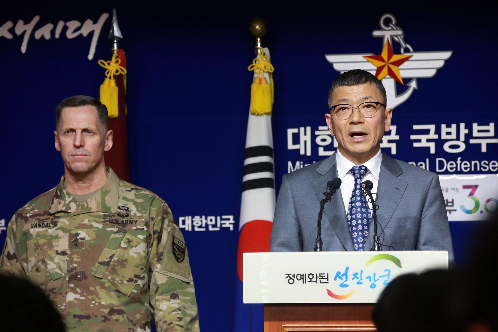 Südkorea USA Raketenabwehr