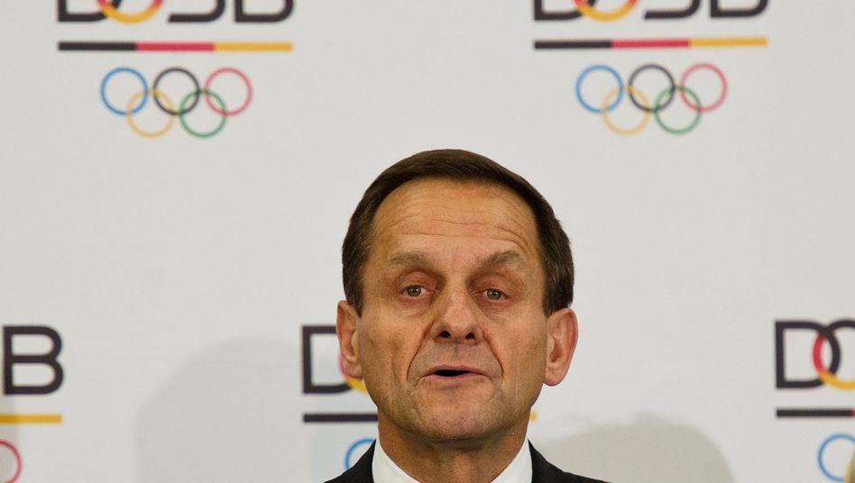 """DOSB-Chef Hörmann: """"Wohl im Grenzbereich"""""""