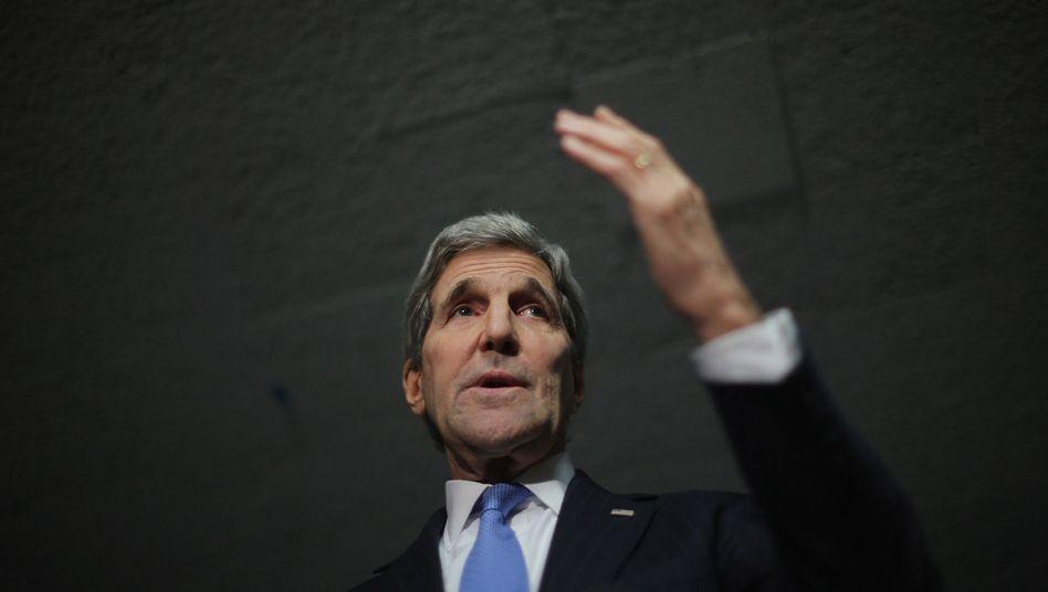 """US-Außenminister Kerry: """"Wir glauben, dass wir dazu fähig sind"""""""