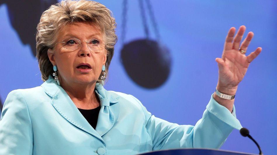 """EU-Kommissarin Reding: """"Recht auf Freizügigkeit ist nicht verhandelbar"""""""