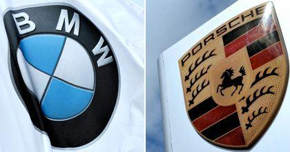 Logos von BMW, Porsche: Milliardenkredit aus Deutschlandfonds?