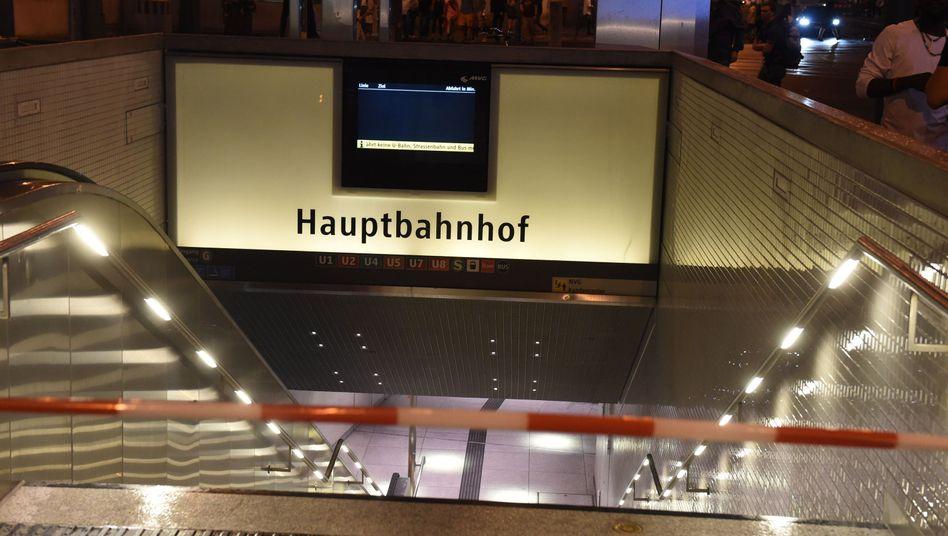 Hauptbahnhof München (gesperrt)