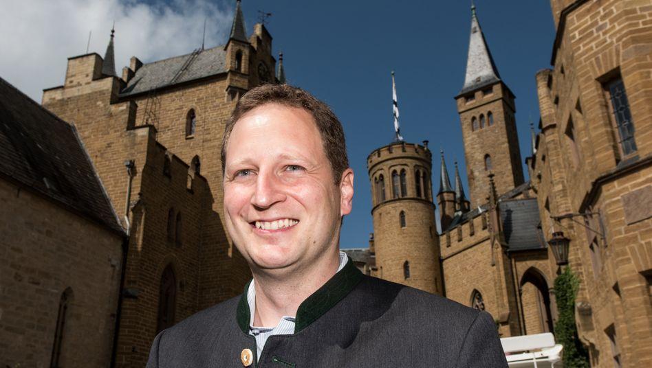 Georg Friedrich Prinz von Preußen auf der Burg Hohenzollern bei Hechingen