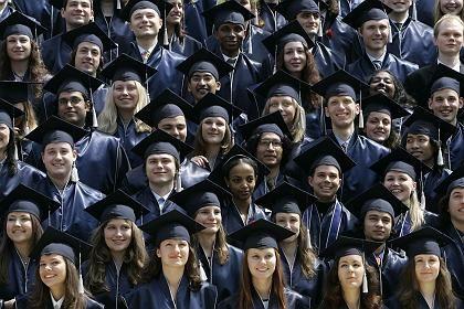 Absolventen in Bremen: Glücklich, den Bachelor geschafft zu haben