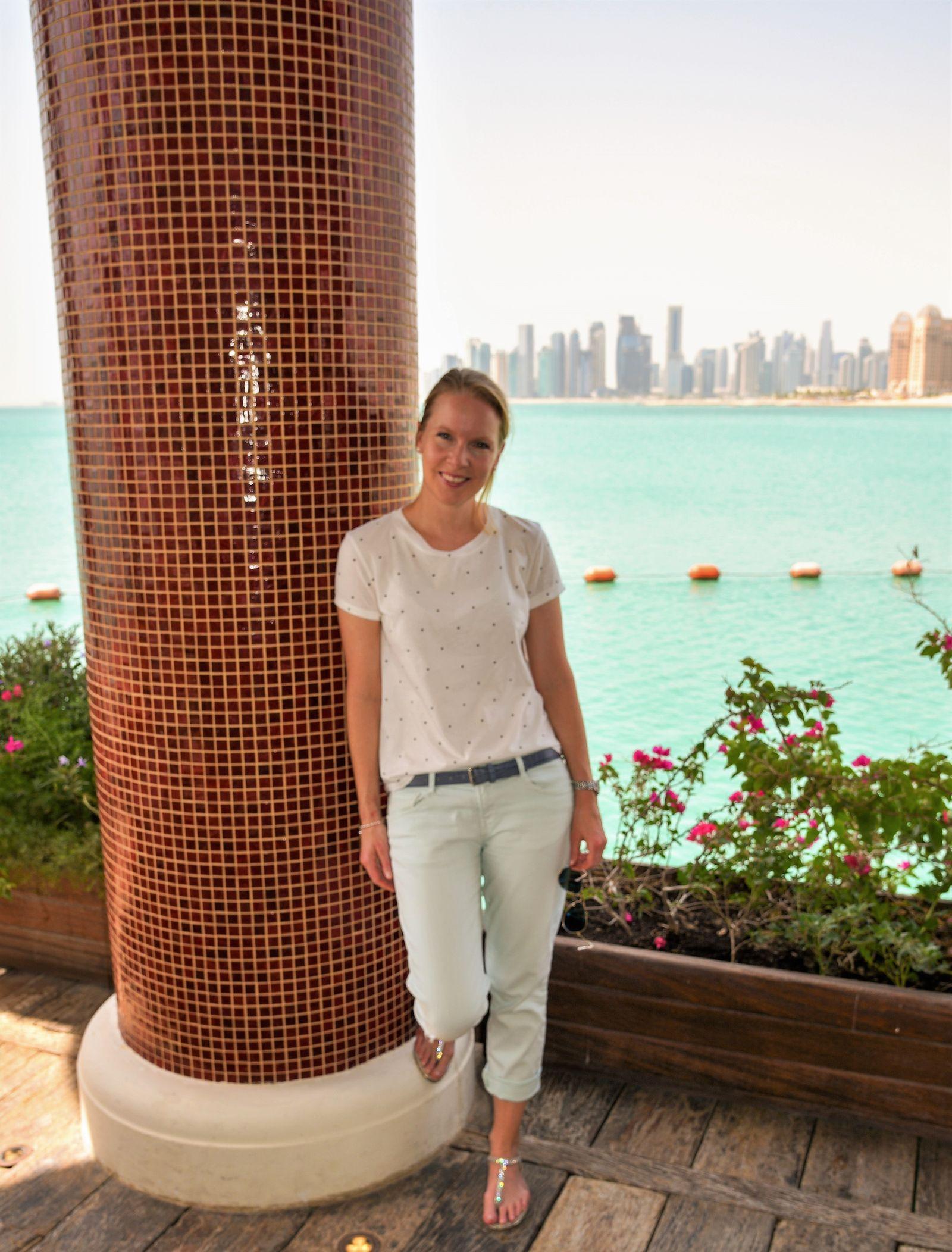 Deutsche Auswanderin in Katar / Conny Bartl