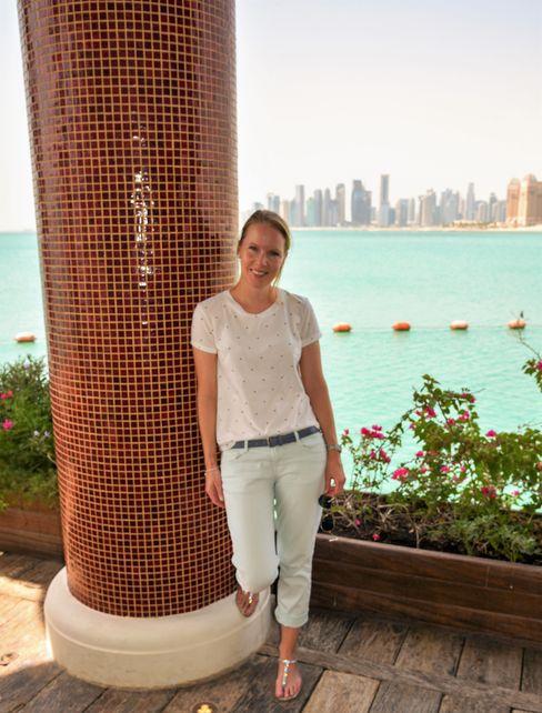 Conny Bartl in Katar: »Wie in Tausendundeiner Nacht«