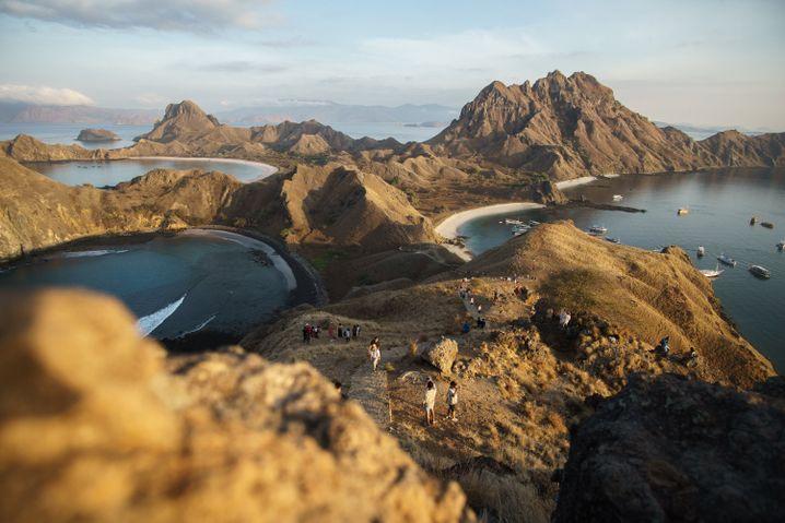 Padar Island - landschaftlich herausragend