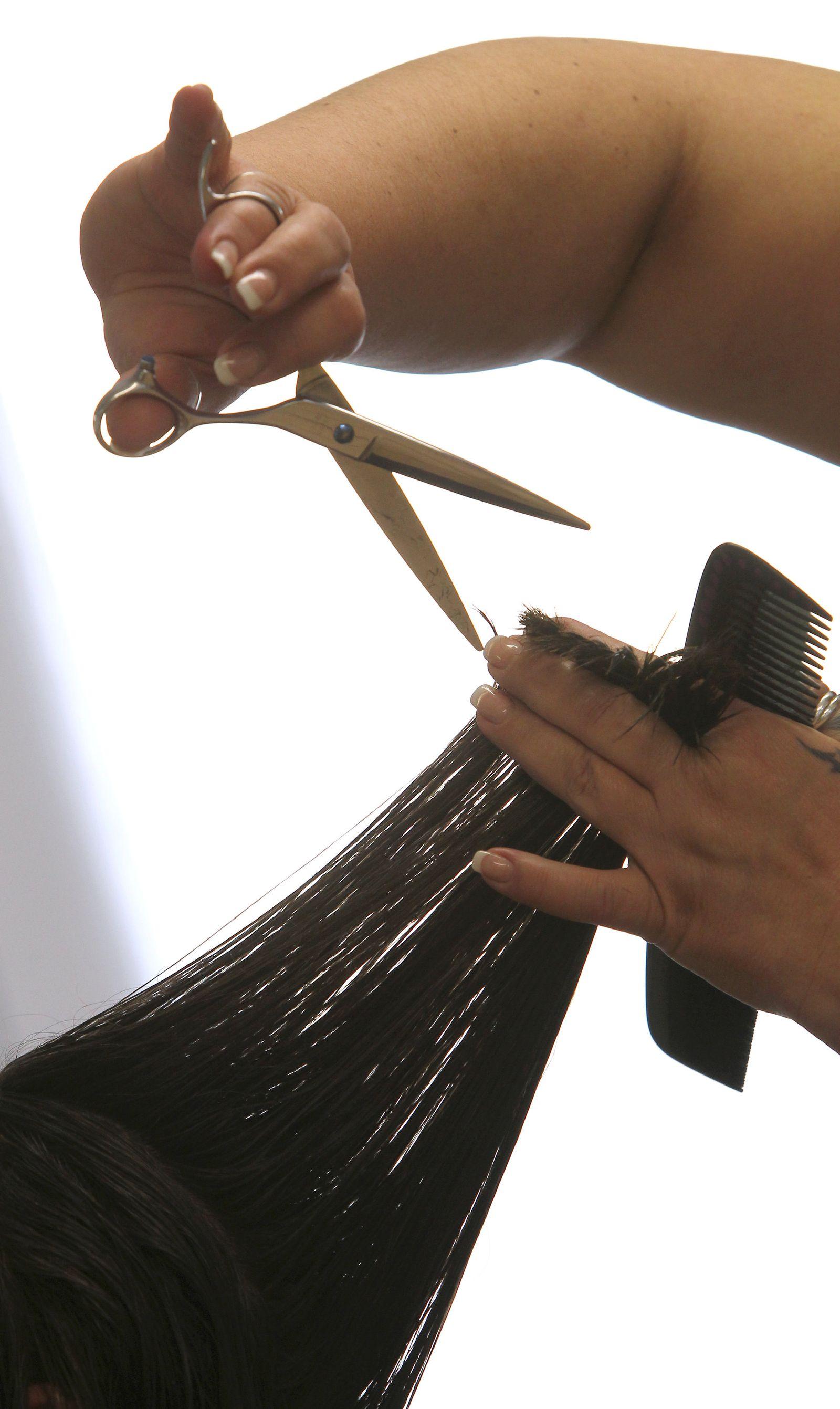 Friseur Haare Schnitt Handwerk