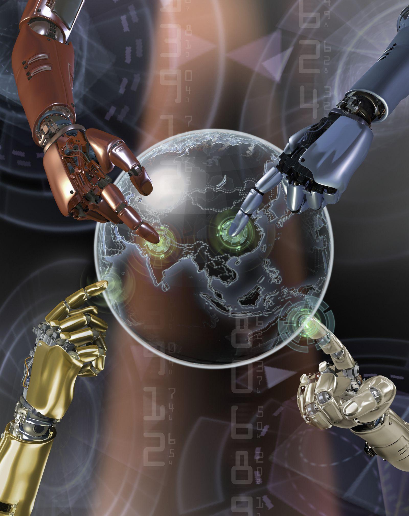 NICHT MEHR VERWENDEN! - Symbolbild Roboter / Digitale Zukunft