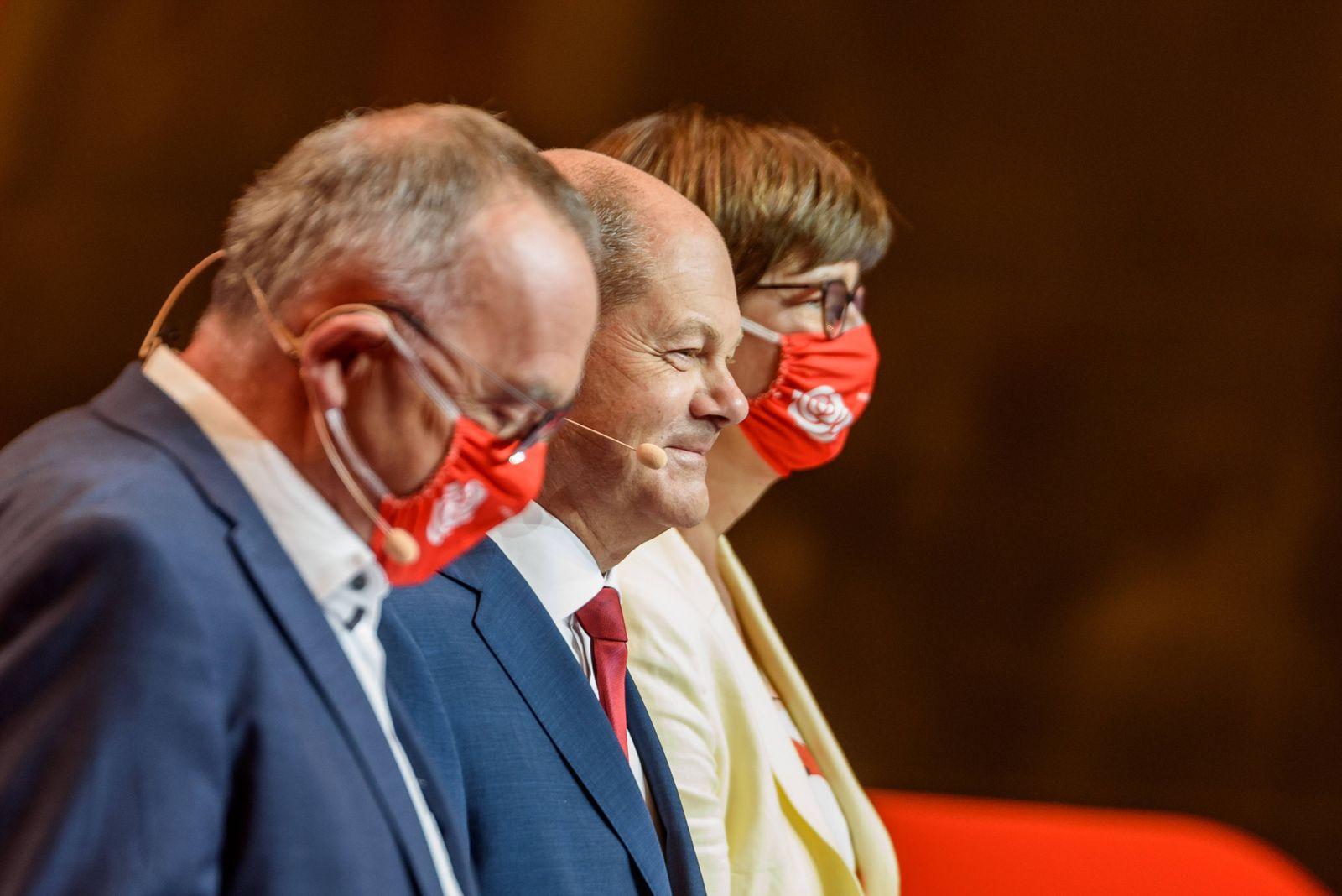 Entertainment Themen der Woche KW33 News Bilder des Tages Parteivorsitzender Norbert Walter-Borjans, nominierter Kanzler