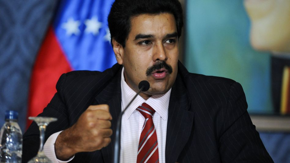 """Venezuelas Außenminister Maduro: """"Imperialistische Aggression"""""""