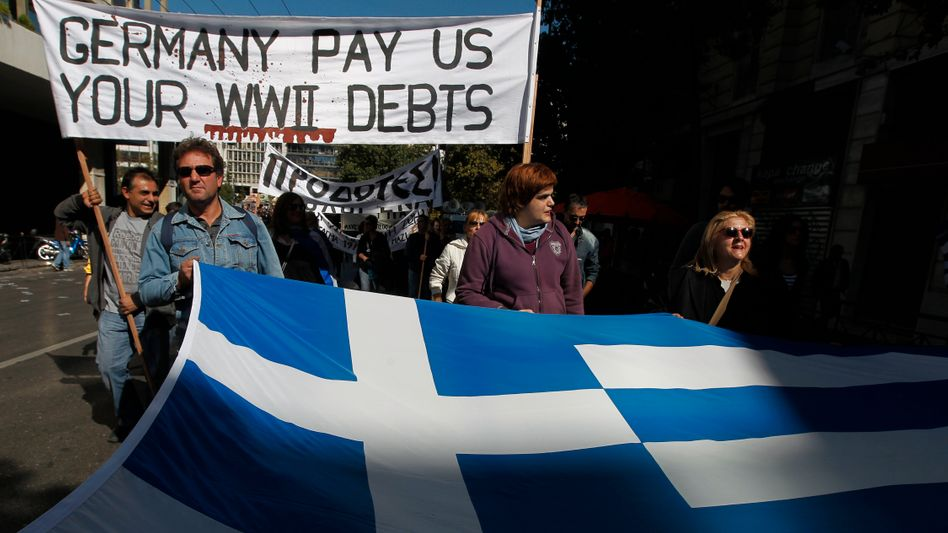 Protest in Athen: Ärger über harte Sparvorgaben