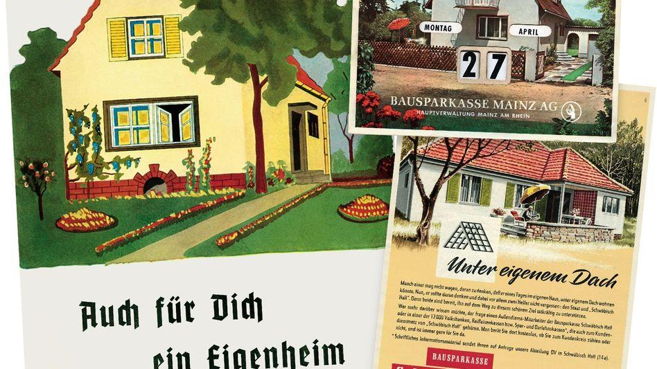 Historische Bausparwerbung: Urdeutsch wie das Oktoberfest oder die »Tagesschau«