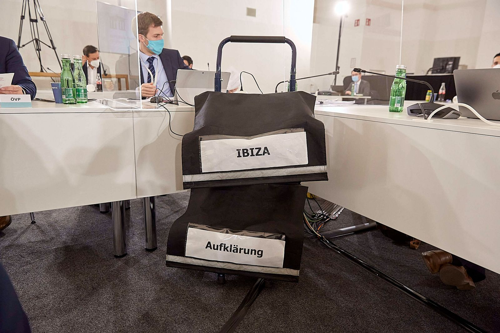 - Wien 02.12.2020 - Heute wurde im Parlament der Untersuchungsausschuss zur Ibiza-Affäre fortgestzt. Das Ibiza-Video fü