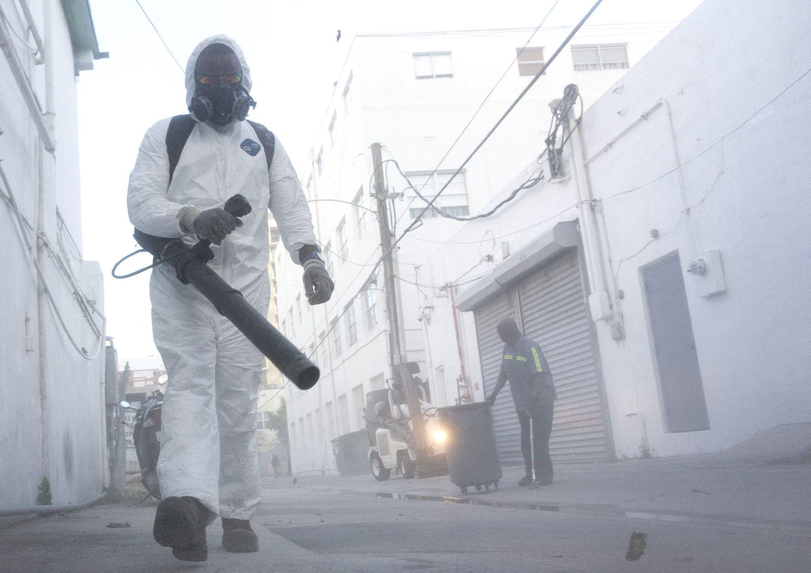 Miami Beach: Einsatz gegen Zika