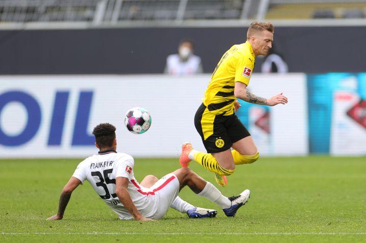 Reus bekommt auf die Knochen: Weil er so gut ist, ist er auch oft das Ziel der Gegenspieler