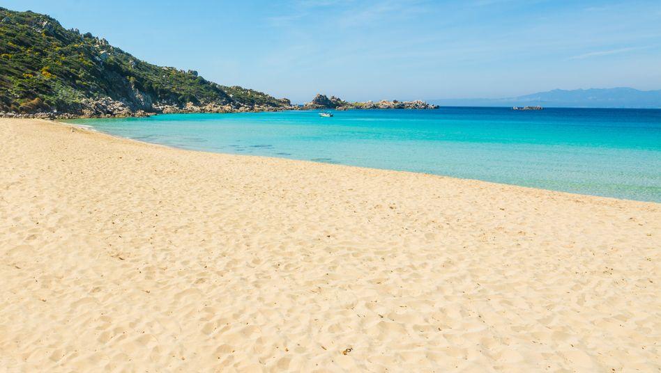 Strand in der Nähe von Domus de Maria (Symbolfoto)