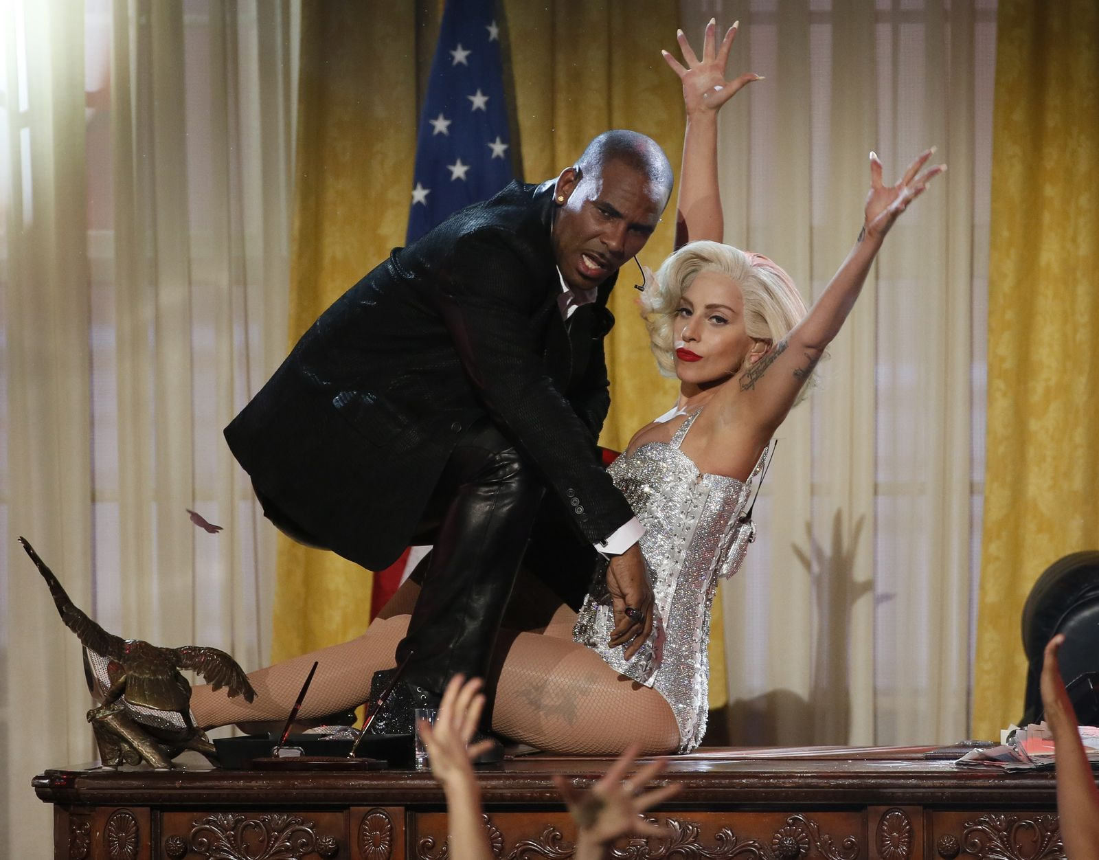 R. Kelly/ Lady Gaga