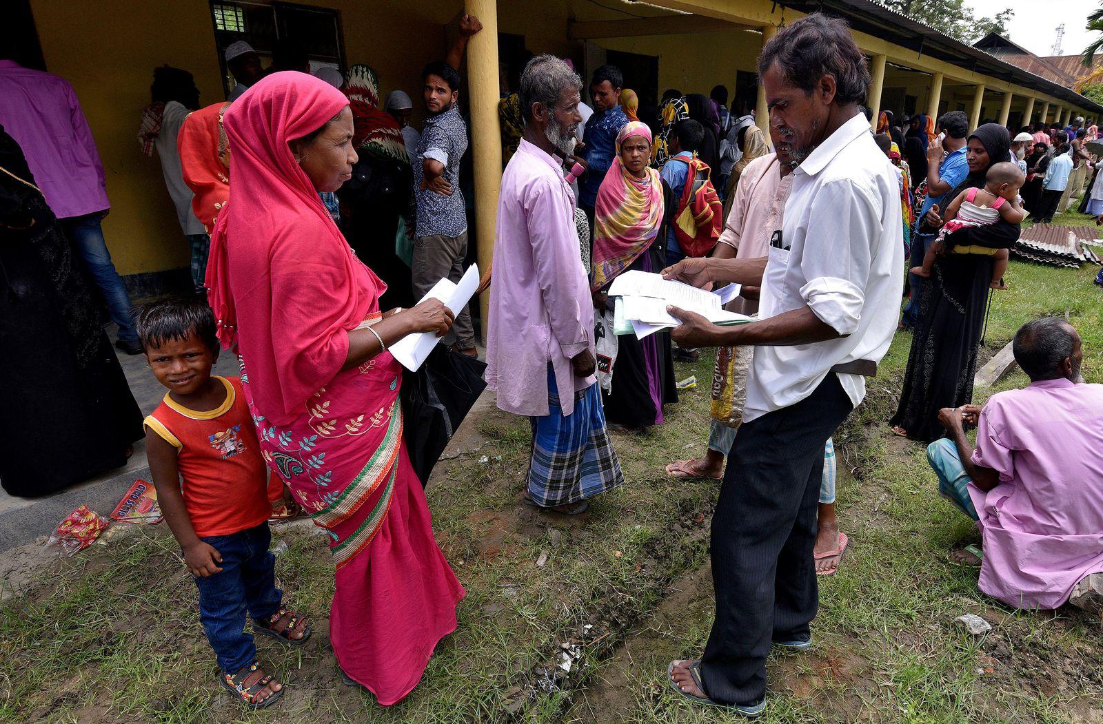 Hindu Naitonalisten Abschiebung Assam Indien