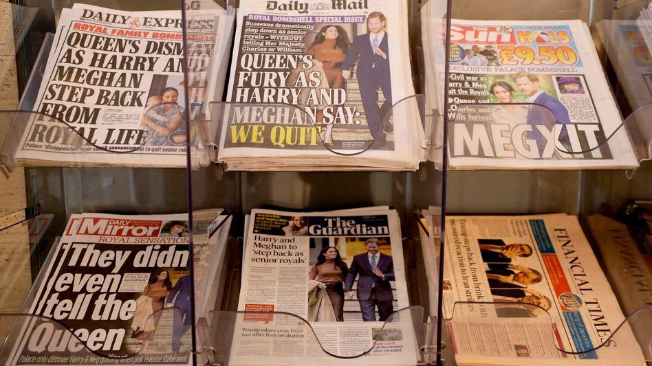 """Zeitungen nach dem """"Megxit"""": Eklatanter Interessenkonflikt"""