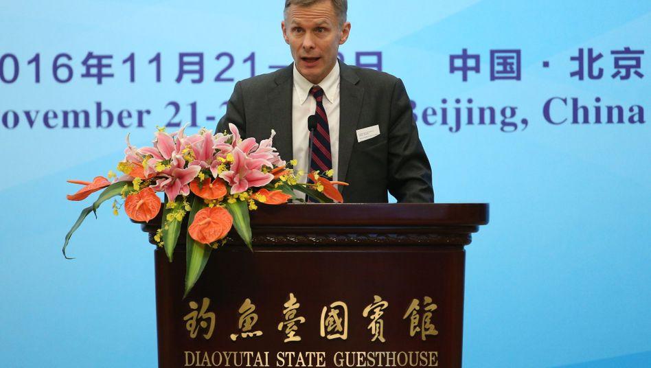 David Rank in Peking (Archivbild von 2016)