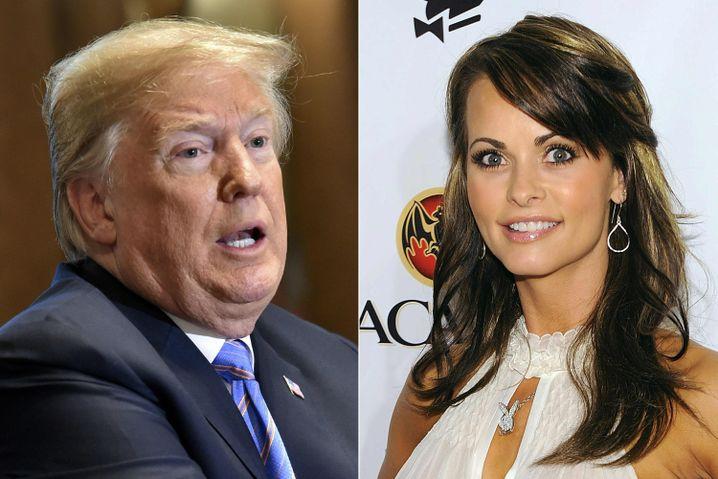 Donald Trump und Karen McDougal