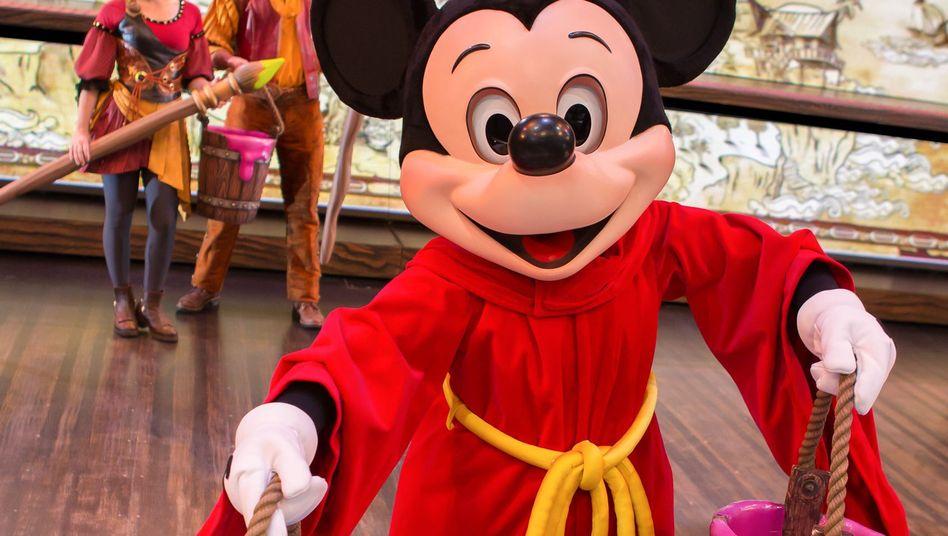 Mickey-Mouse-Show im Disneyland in Anaheim: Kleine Explosion trübt Freizeitspaß