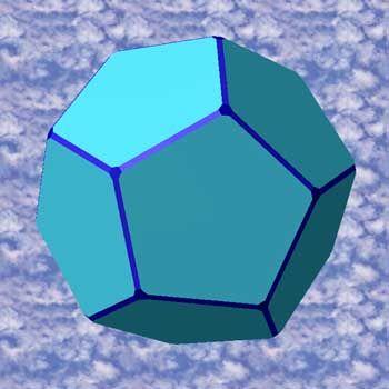 Dodekaeder: Ist das Weltall ein zwölfseitiger Ball aus Fünfecken?