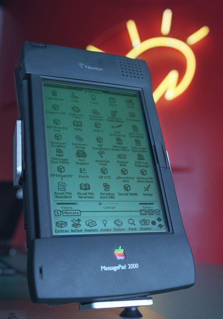 Ein grandioser Flop: Apples Newton MessagePad 2000