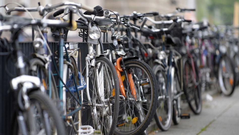 70 Millionen Fahrräder gibt es zurzeit in Deutschland.