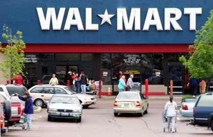 Amerikanische Wal-Mart-Filiale: Optimistischer Blick in die Zukunft