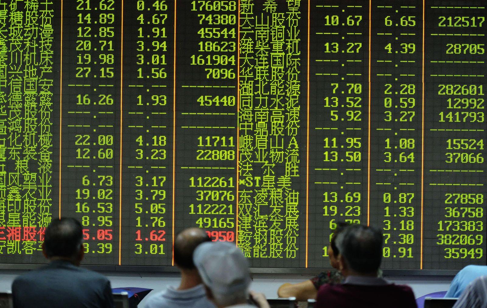 Shanghai/Börse