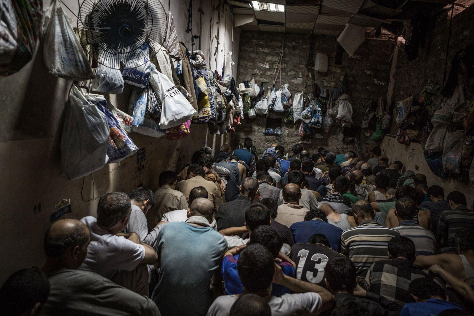 Irakischen Gefängnis für IS-Militanten