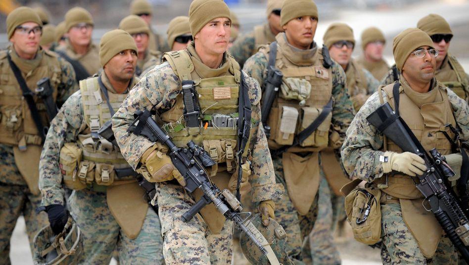 "US-Soldaten bei Manöver in Südkorea (Archivaufnahme): Start für ""Foal Eagle"""