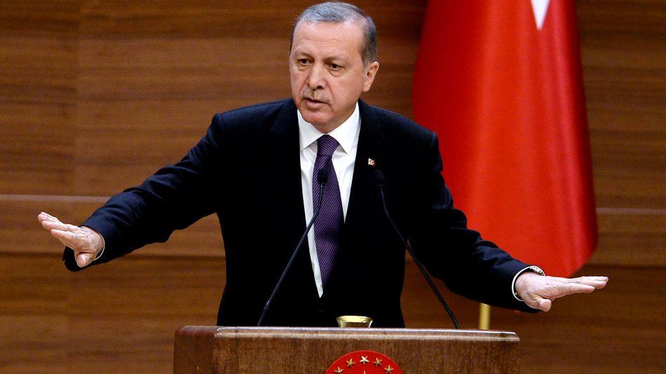 """Präsident Erdogan: """"Eine der wichtigsten Botschaften"""""""