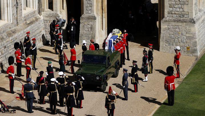 Prinz Philip – Beisetzung in Windsor