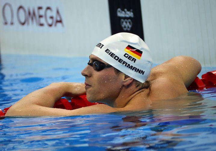 Paul Biedermann verpasste eine Medaille deutlich