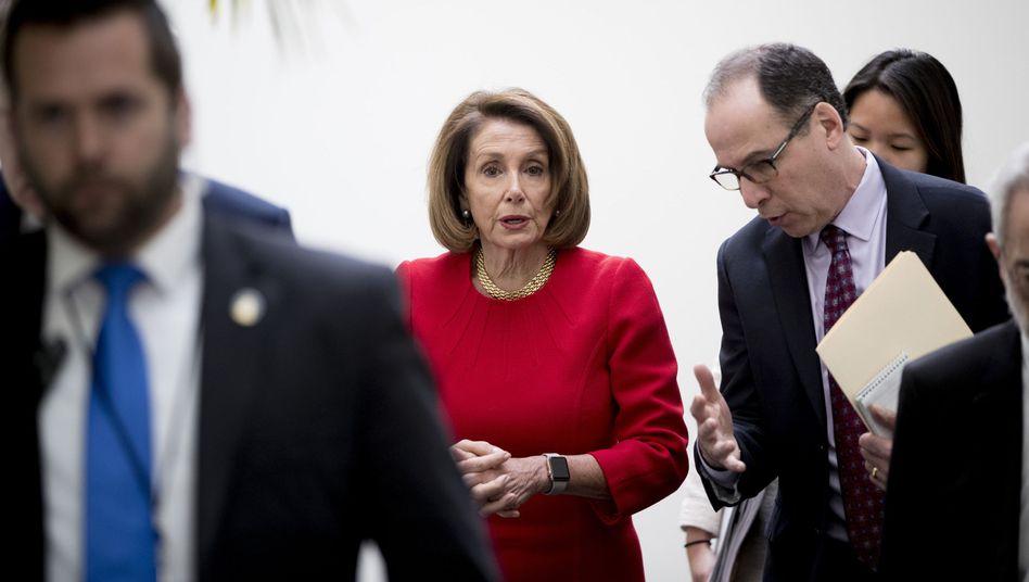 Sprecherin des Repräsentantenhauses, Nancy Pelosi