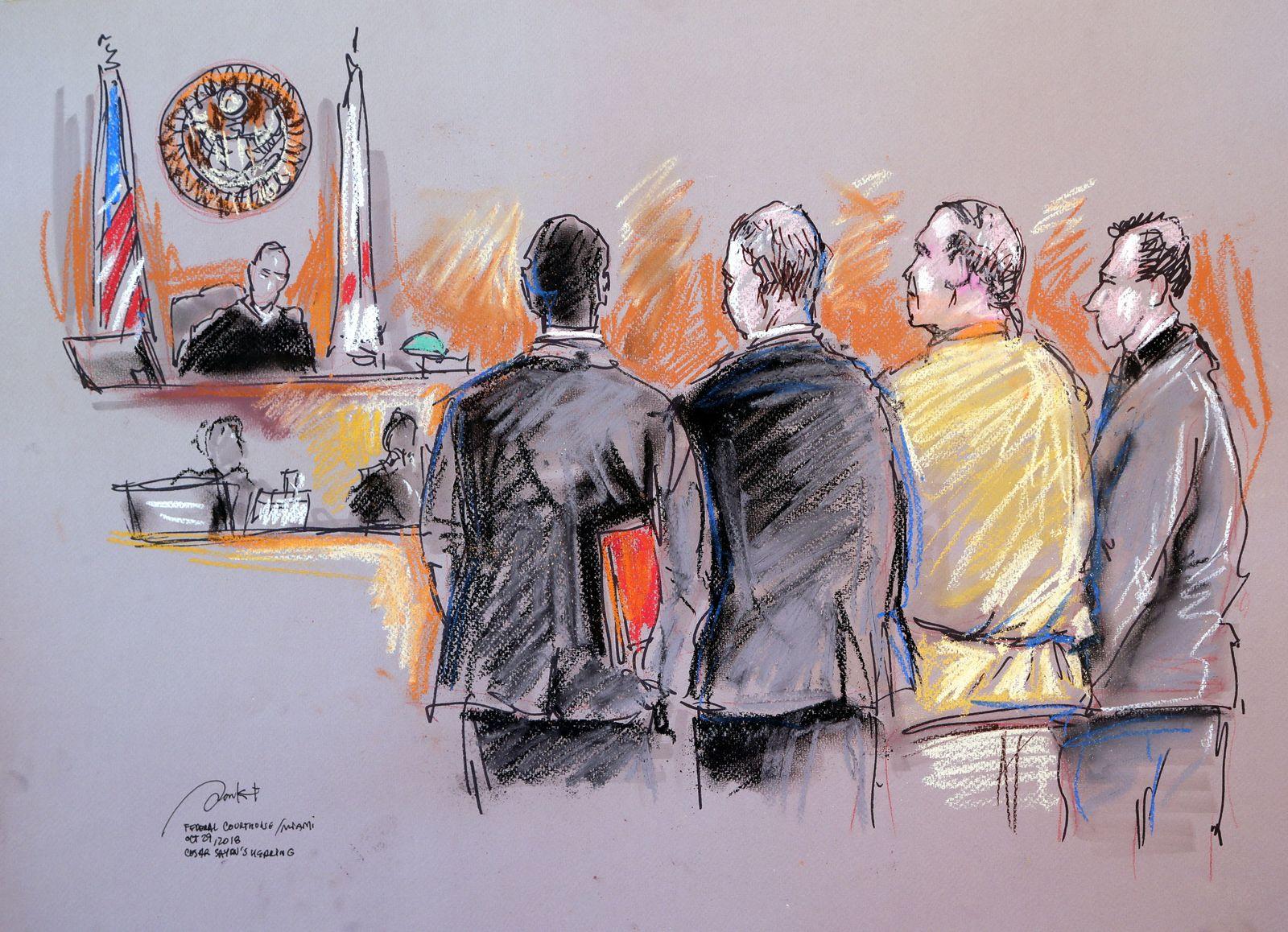 Verdächtiger im Fall der US-Rohrbomben vor Gericht