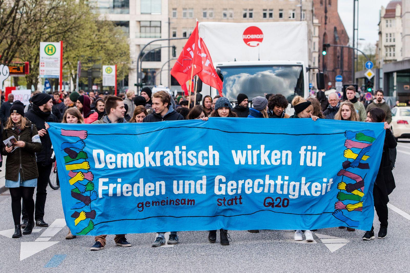 G20 / Hamburg / Demonstration / Protest