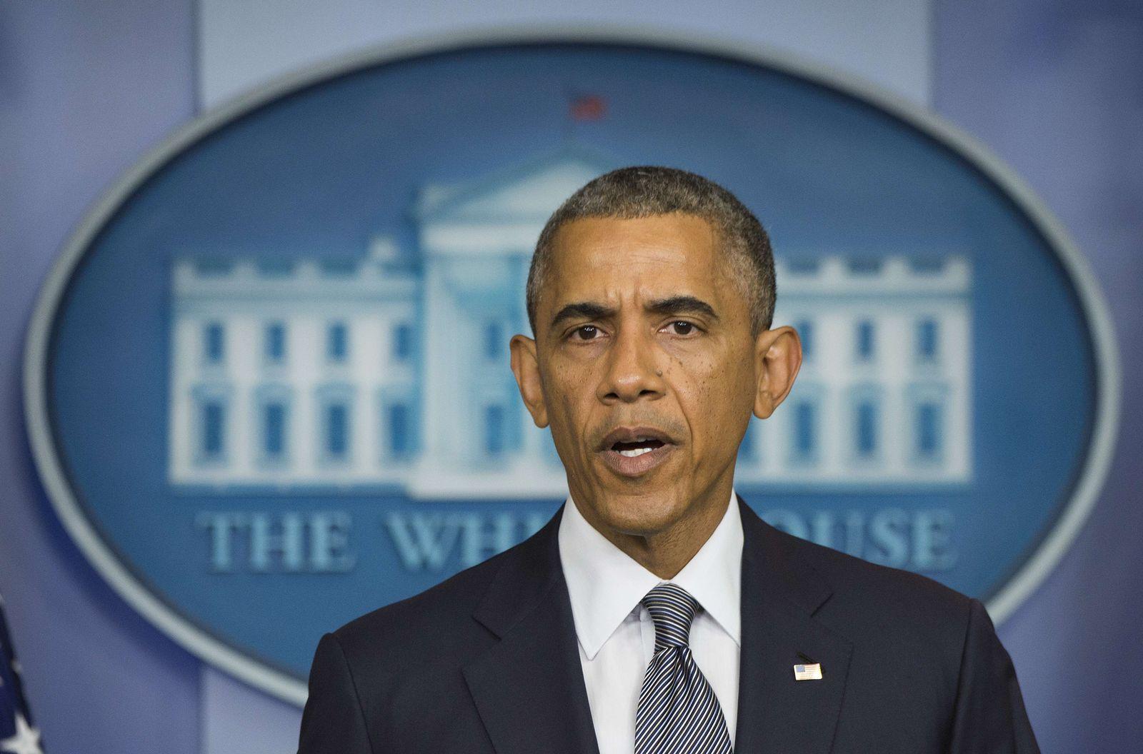 Obama/ Pressekonferenz/ Ukraine
